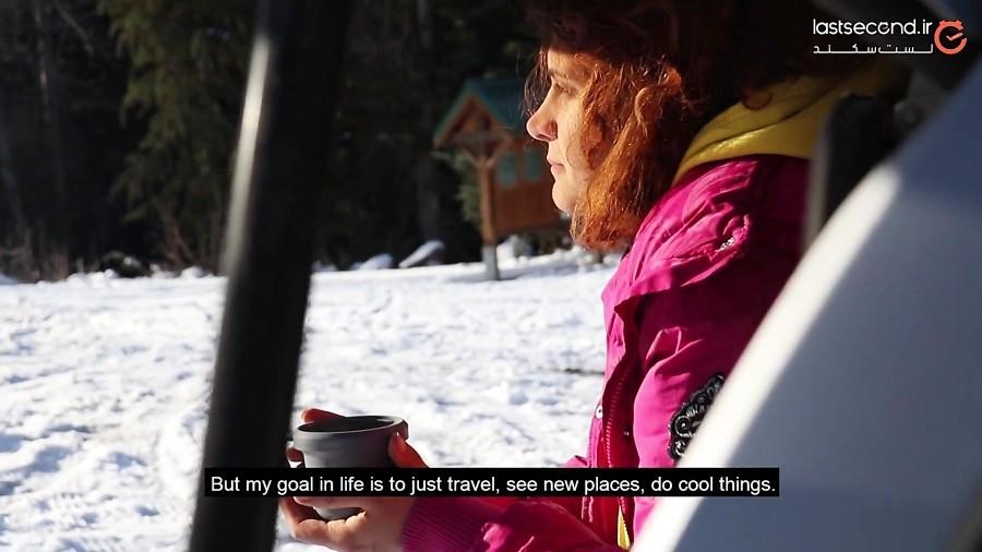 سفر به کوهستانهای برفی بریتیش کلمبیا در کانادا