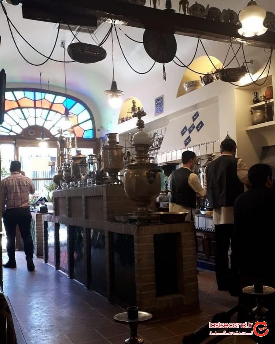 قهوه خانه سنتی آذری