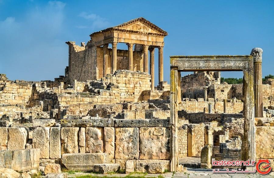 آثار تاریخی شگفتانگیز تونس اثبات حضور امپراطوری رم در این کشور میباشد