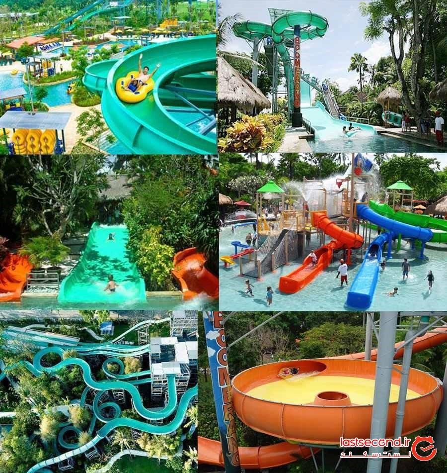 پارک آبی Waterbom Bali