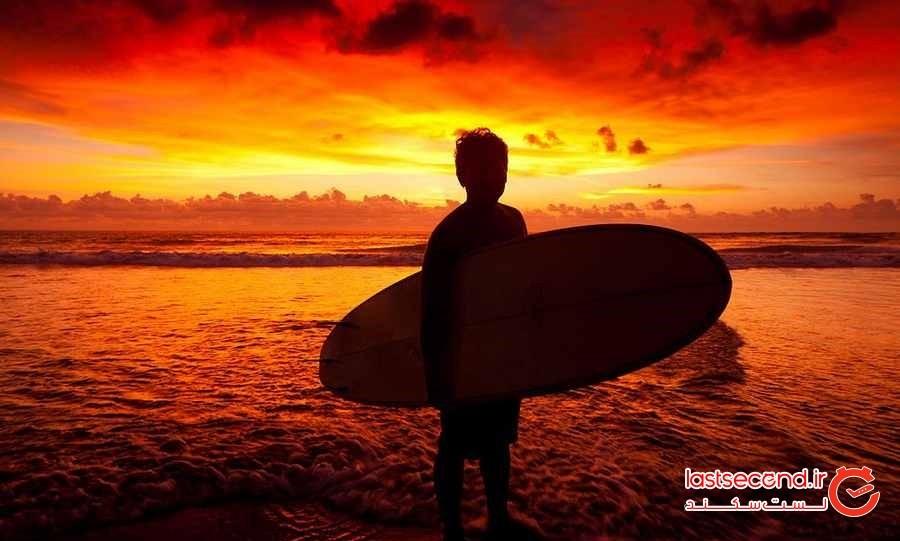 موج سواری در بالی