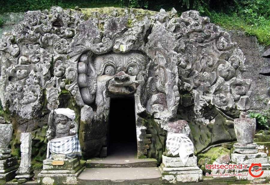 غار ( معبد) فیل ها در در اوبود - Goa Gajah