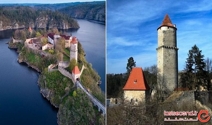 قلعه روحزده: قلعه زویکوف (جمهوری چک)