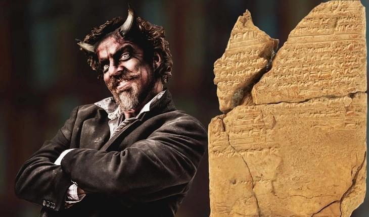 لوحی 2700 ساله که شیاطین و ارواح را در تمدن آشوریان به تصویر کشیده است!