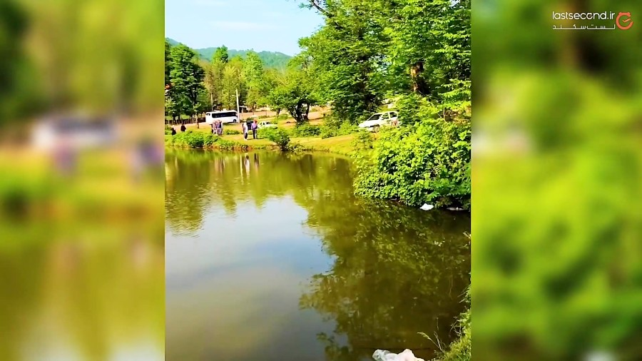 آرامشِ مطلق در دریاچه ی عروس