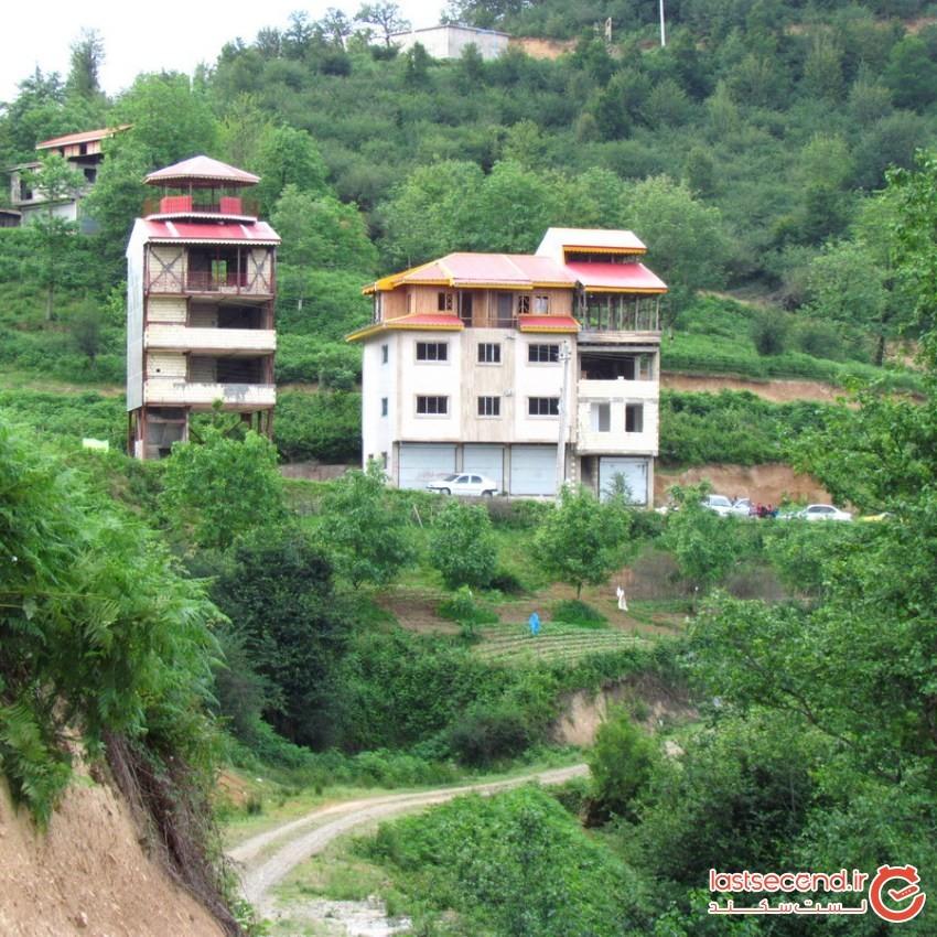 روستای امامزاده اسحاق شفت