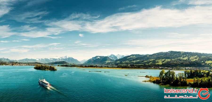 جاذبه های گردشگری زوریخ ، بهشتی در اروپا