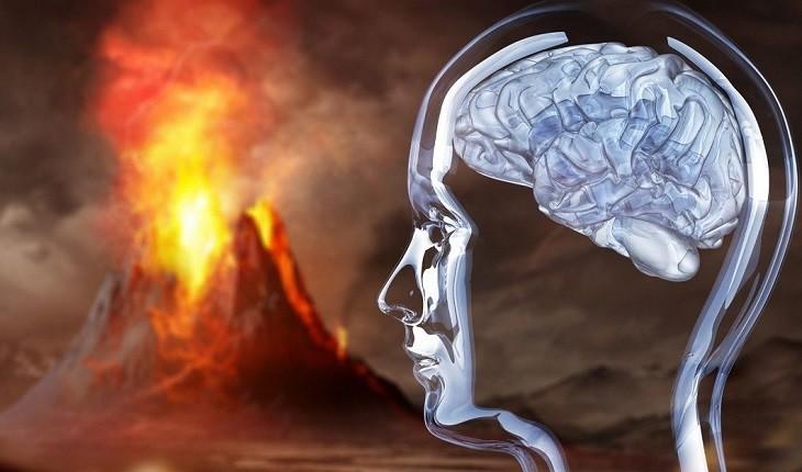 فوران آتش فشانی که مغز انسان ها را به شیشه تبدیل کرد!