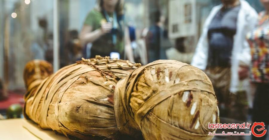 مومیایی که پس از 3000 سال هنوز صدایش به گوش می رسد!