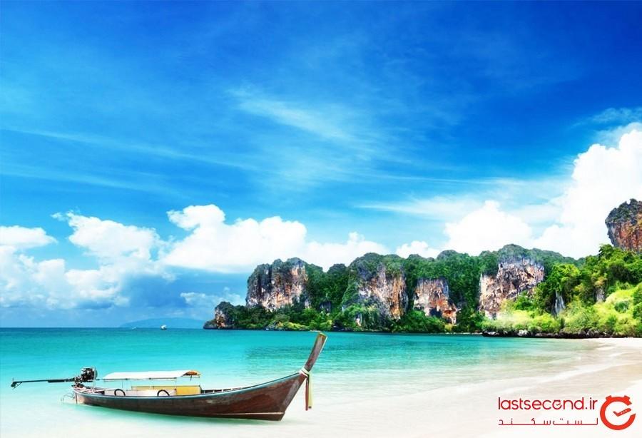کرابی، شهری به زیبایی بهشت در تایلند + تصاویر