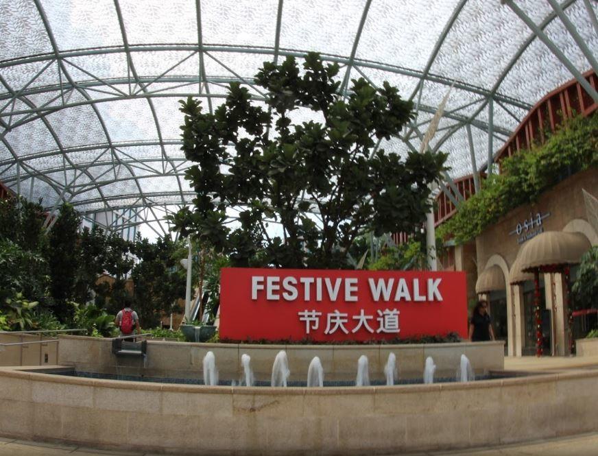 Festive Walk at RWS