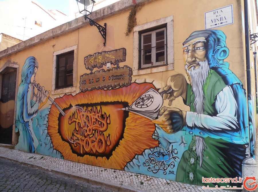 بهترین شهرها برای دیدن هنر خیابانی