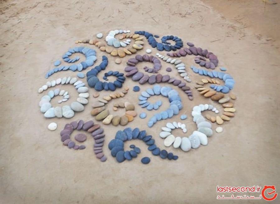 هنر خاکی، خلق شگفتی با ابزارهای طبیعت