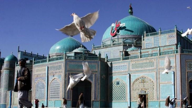 چرا مسجد کبود افغانستان را به این نام می خوانند؟