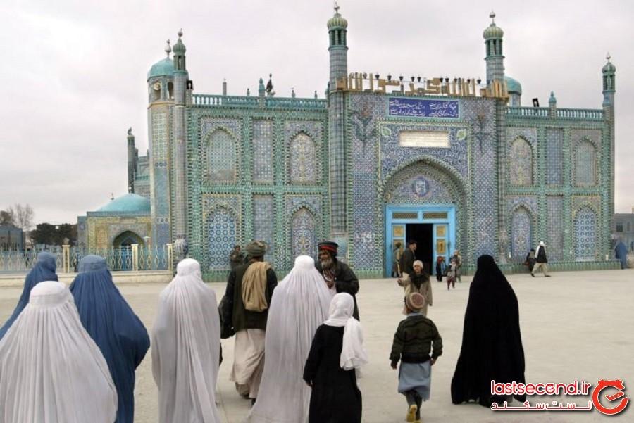 زیبایی مبهوتکننده مسجد کبود افغانستان