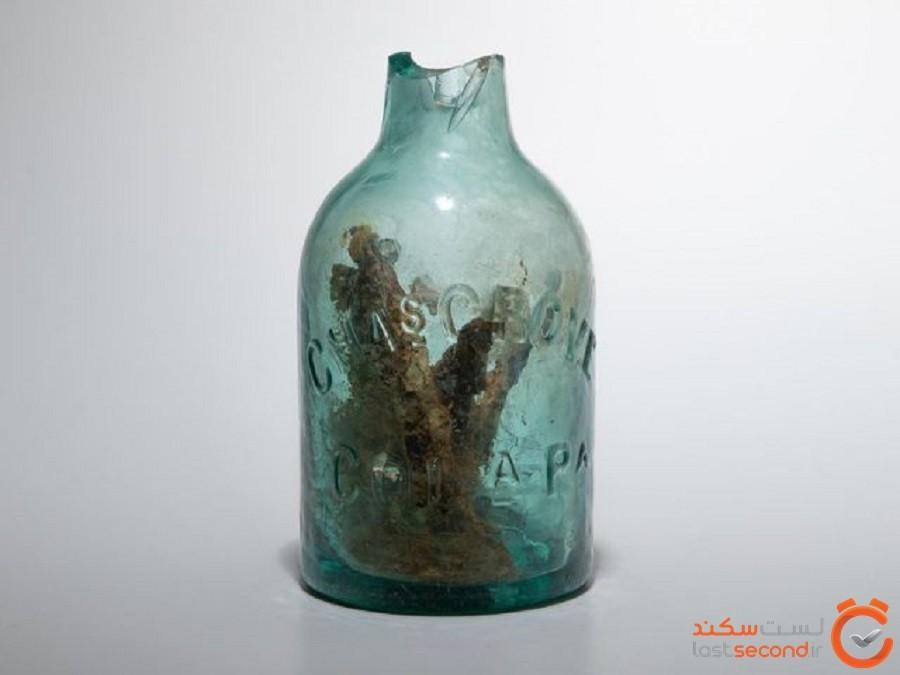 یک «شیشه جادوگری» عجیب در اردوگاه جنگ داخلی ویرجینیا کشف شد!