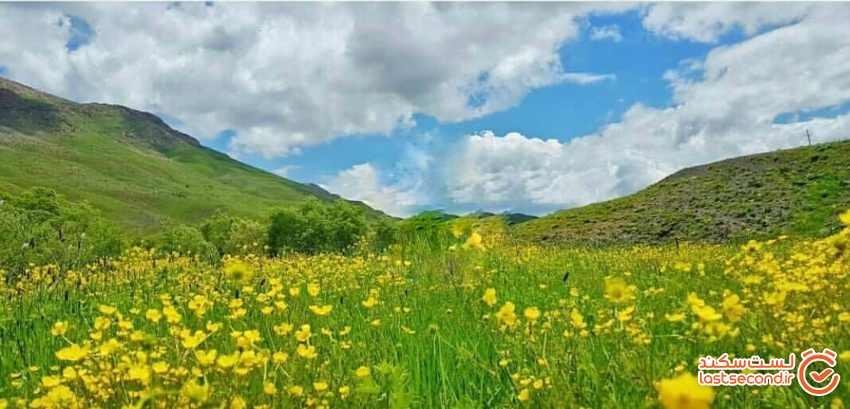 روستای دوزخدره، روستای در میان رشته کوه زاگرس