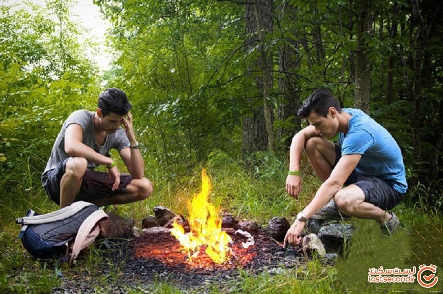 هنگام کوهنوردی چگونه از منطقه آتش سوزی فرار کنیم؟