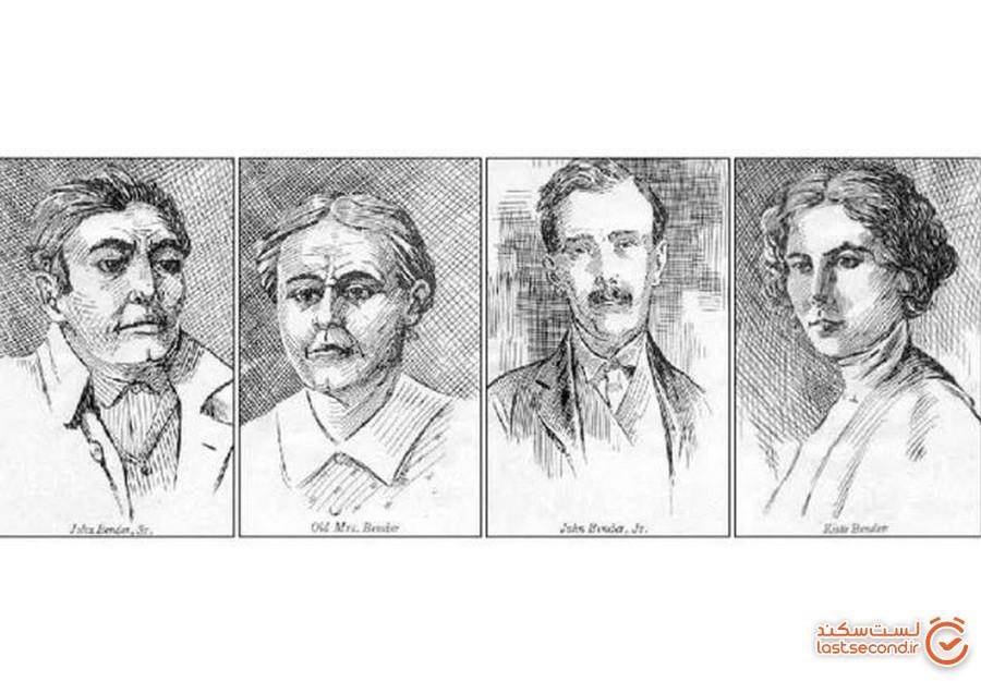 حراج خانه اولین خانواده قاتل زنجیره ای در آمریکا