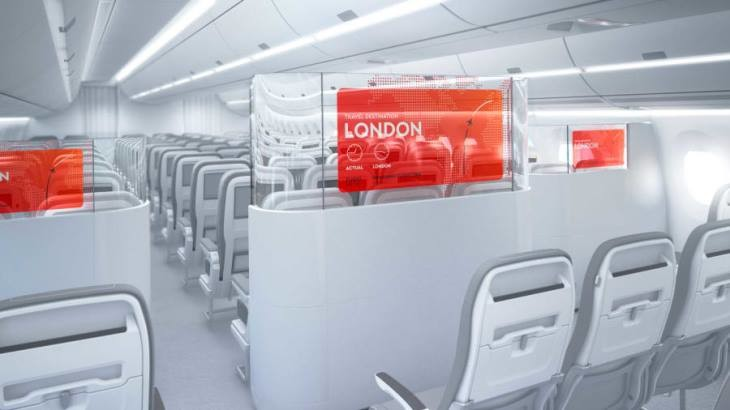 لیستی از بهترین امکانات داخلی هواپیماها در جایزه کابین کریستالی!