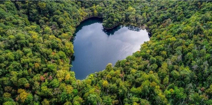 10 مکان در جهان که به شکل قلب هستند!