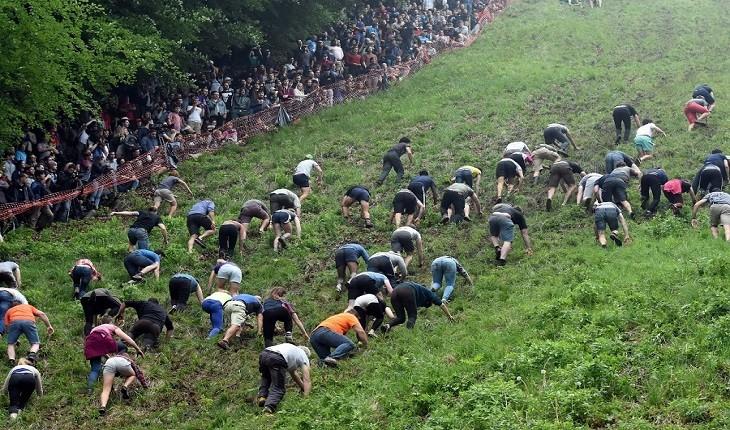 10 مسابقه خطرناک در جهان که مردم واقعا در آنها شرکت می کنند!