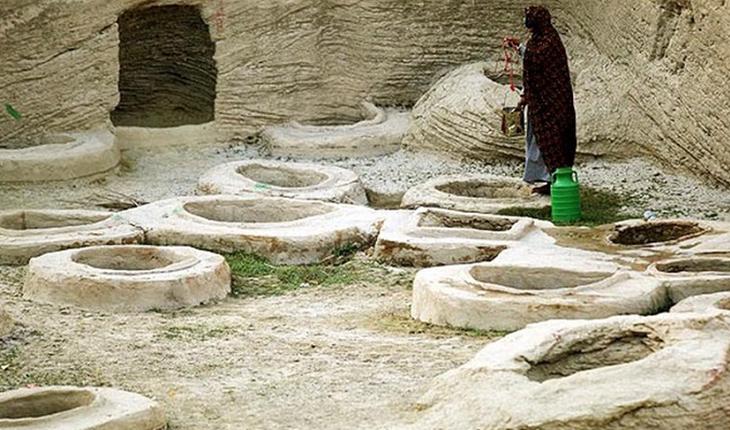 چاه های تل آو یا طلای لافت، محلی عجیب برای ذخیره آب باران!