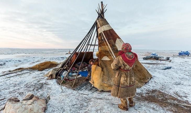 زنی شجاع که به جستجوی الگوی زندگی بومیان سیبری می رود!