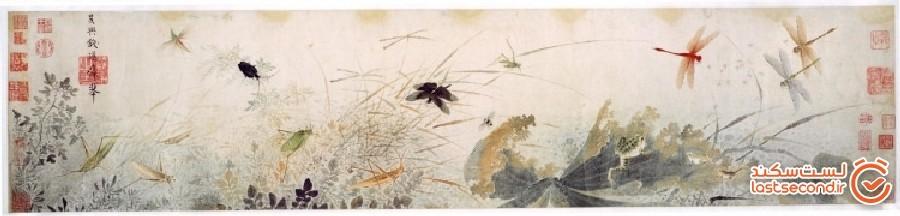 تاریخچه هنر زیبای نقاشی روی ابریشم در چین