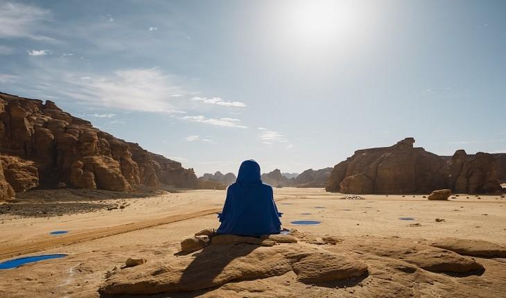 صحرایی در عربستان سعودی که به واحه هنر معاصر تبدیل شد!