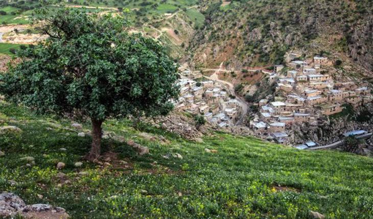 قلعه پالنگان کردستان، یادگاری از دوران پیش از اسلام!