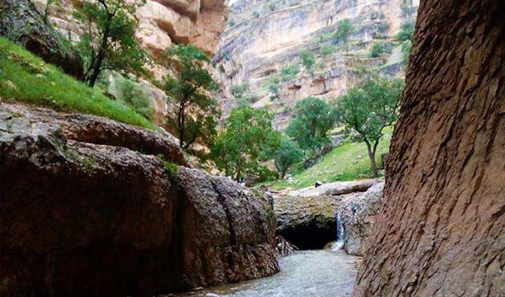 غار پل خدا، اعجازی دیگر در تنگه شیرز کوهدشت، گرند کانیون ایران