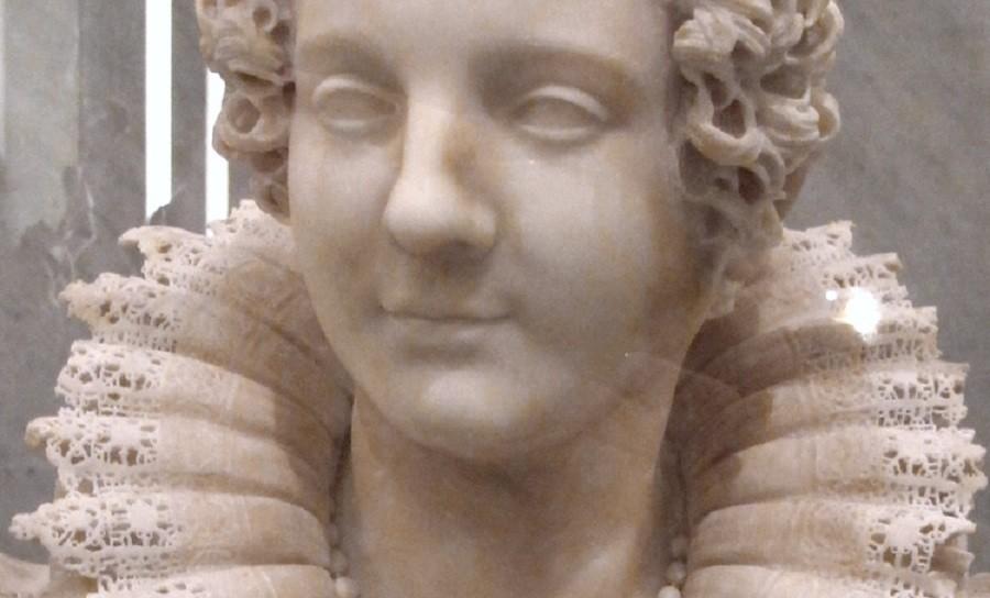 مجسمه قرن هفدهمی مرمری دست تراش با جزئیات شگفت انگیز!