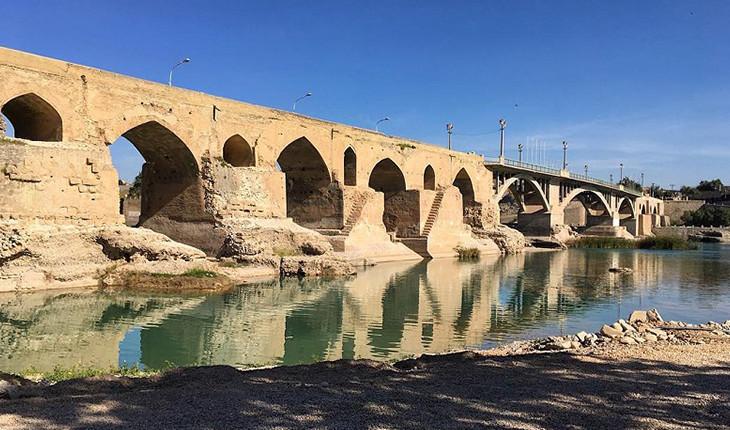 پل قدیم دزفول، شاهراهی برای رسیدن به سرزمین بین النهرین!