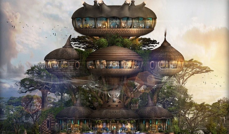 مردی که ایده ساخت هتلی شبیه به باغ وحش انسانی را در سر دارد!