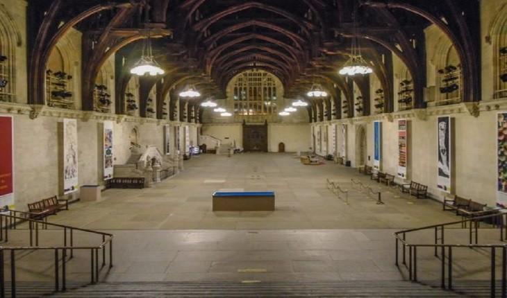 گذرگاه مخفی متعلق به قرن هفدهم در ساختمان پارلمان بریتانیا!