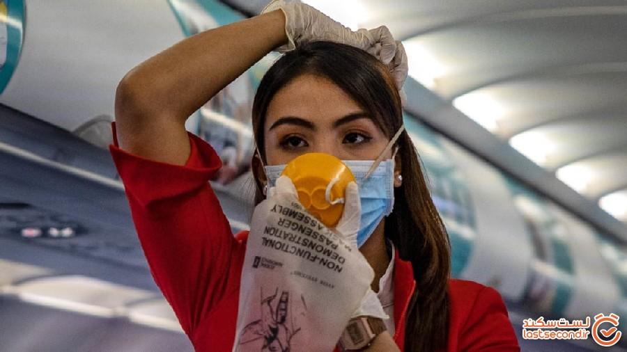 چگونه از گسترش بیماری در هواپیماها و کشتیها جلوگیری کنیم