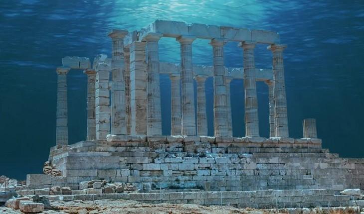 کشف شگفت انگیز شهر هرقلیون مصری، آتلانتیسی در زیر رود نیل