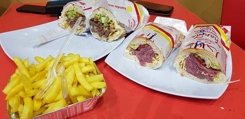 ساندویچ هایدا(میدان انقلاب)