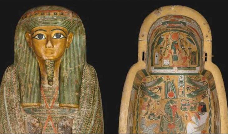 آثار ۳۰۰۰ ساله الهه مصری بر روی تابوت مومیایی بازسازی میشوند!