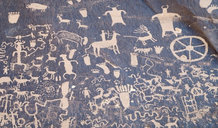 تصاویری 2000 ساله که زندگی انسان ها را به تصویر می کشد!