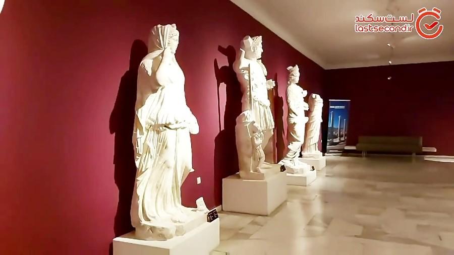 موزه آنتالیا، تاریخ در همسایگی دریا