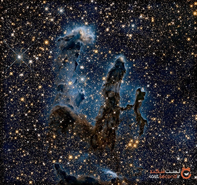 نگاهی به بُعد دیگری از عکس های خیره کننده ای که توسط ناسا ثبت شده است