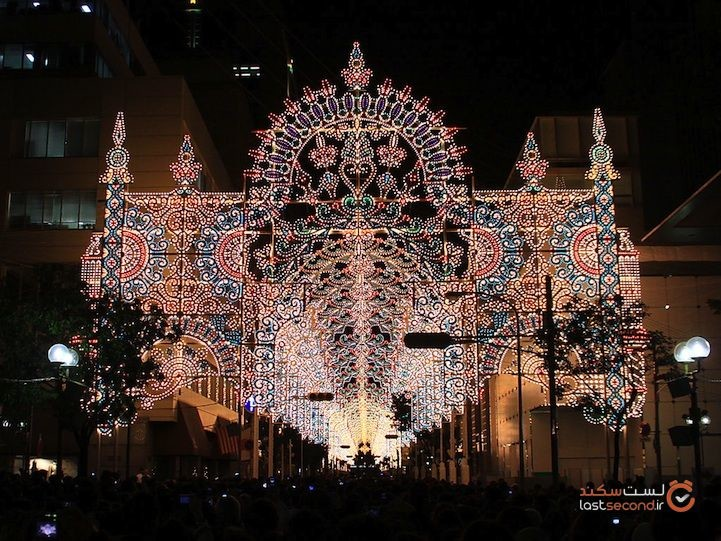 مشهورترین جشنواره نور ژاپن