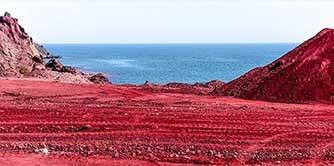 سفر به جزیره هرمز، رنگین کمان خلیج فارس