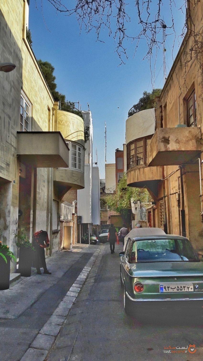 کوچه لولاگر تهران