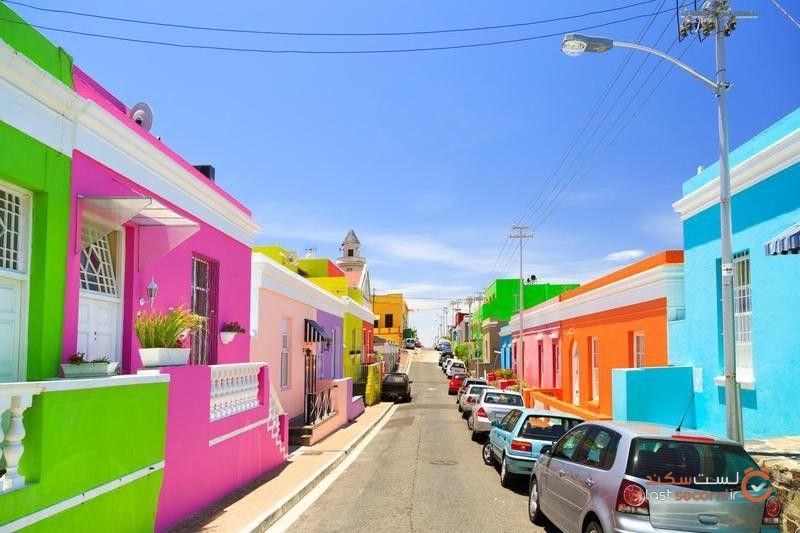 ۱۰ مکان رنگارنگ که تا نبینید، وجود آنها را باور نمیکنید!  