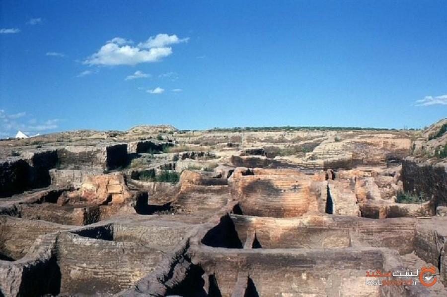 روستای باستانی مربوط به دوران پارینهسنگی که در اثر اصابت یک ستاره دنبالهدار نابودشده است