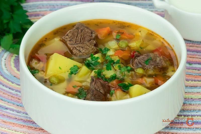 یازده تا از بهترین سوپها از سراسر جهان
