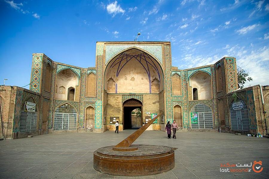 مسجد جامع عتیق قزوین، گوهری در قلب ایران زمین!